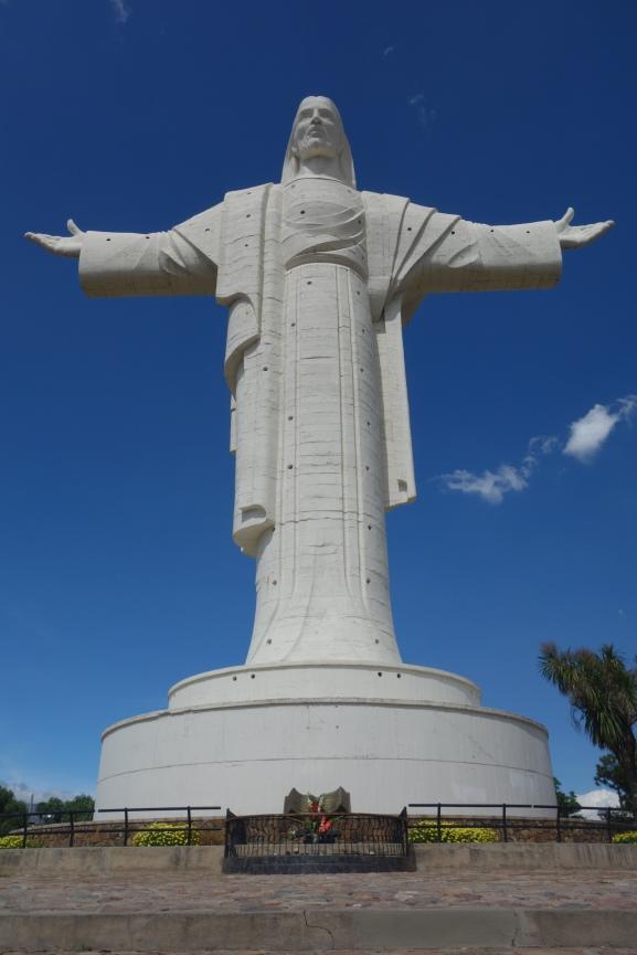 El Cristo de la Concordia - bigger than Rio's famous Cristo!