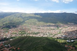 View of Cochabamba