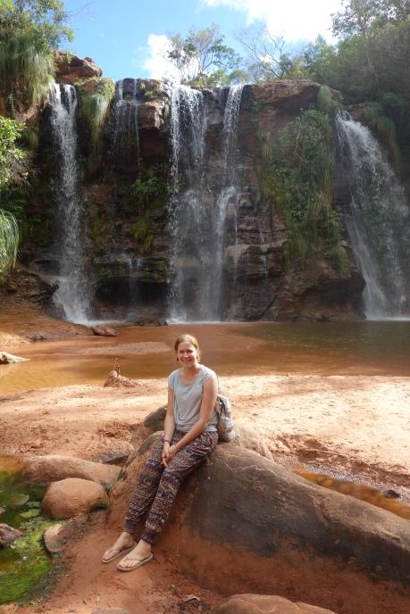 Las Cuevas waterfalls, Samaipata