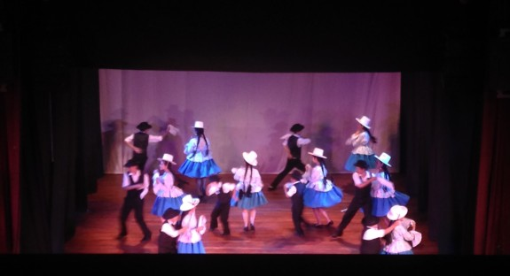 Folkoric dance show