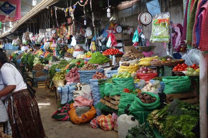 La Cancha (Cochabamba's largest market area)